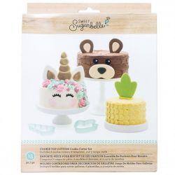 Sweet Sugarbelle Cake topper set