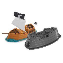 Pirate ship cake pan