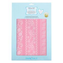 Large lace mat 14
