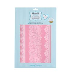 Large lace icing mat 16