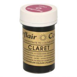 Sugarflair paste colour claret