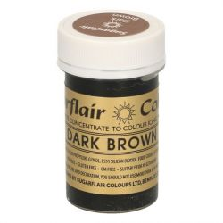 Sugarflair paste colour Dark Brown