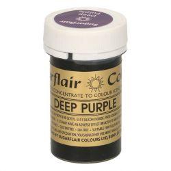Sugarflair paste colour deep purple