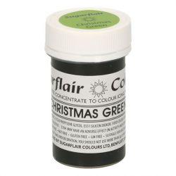 Sugarflair paste colour christmas green