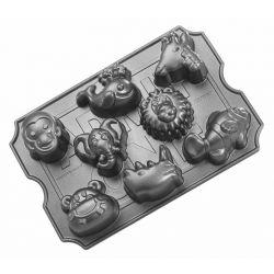 Zoo animals muffin pan