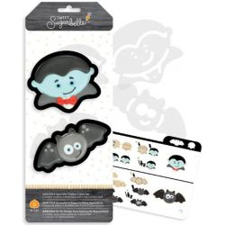 Sweet Sugarbelle Dracula Specialty Cookie Cutter set 5pc