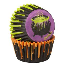 Wilton baking cups mini halloween 100/pc