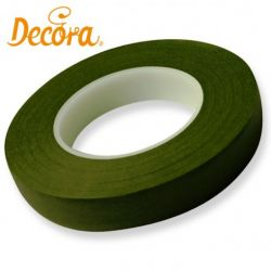 Decora Flower Tape Donker Groen