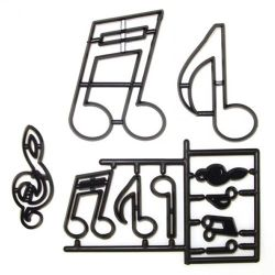 Patchwork Cutters Music Notes