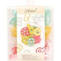 Sweet Sugarbelle Alphabet cookie cutter set