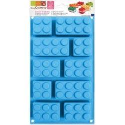 ScrapCooking Silicone Bakvorm Lego/Duplo Blokken