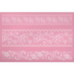 KitchenCraft Large Lace Icing Mat Nr14