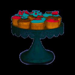 Patisse Cupcake Standaard Wit 25cm