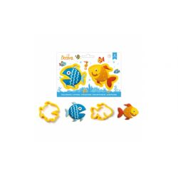 Decora Plastic Cookie Cutters Fishes