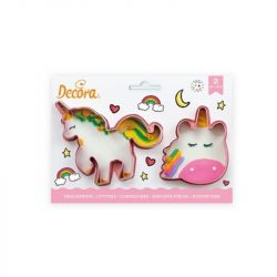Decora Unicorn Uitstekers set/2