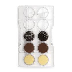 Decora Polycarbonaat Chocolade Vorm Dischetti