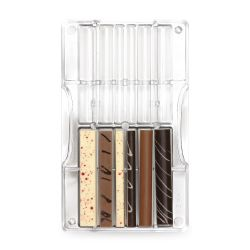 Decora Polycarbonaat Chocolade Vorm Bastoncini & Pioli