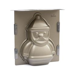 Decora 3D Baking Pan Santa Claus