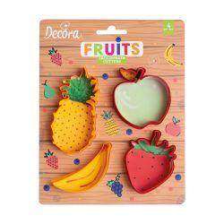 Decora Fruits Uitstekers set/4