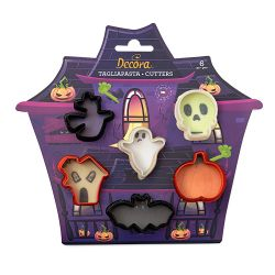 Decora Plastic Cookie Cutters Halloween