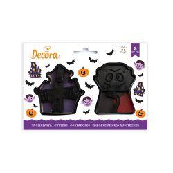 Decora Plastic Cookie Cutter Vampire