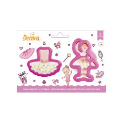 Decora Plastic Cookie Cutter Ballet