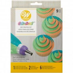 Wilton Coupler Color Swirl Three Color