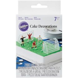 Wilton Cake Decorations Soccer Set