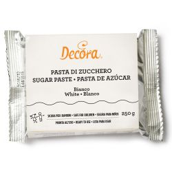 Decora Witte Rolfondant 250 gram THT 2-11-2020