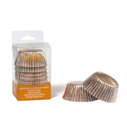 Decora Baking Cups Rosé Goud 60/pc