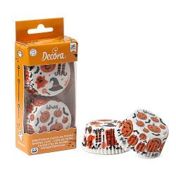 Decora Baking Cups Halloween 36/pc