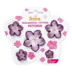Decora Plastic Flower Cutters Petunia