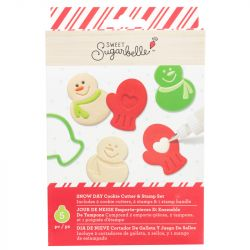Sweet Sugarbelle Snow Day Cookie Cutter and Stamp Set