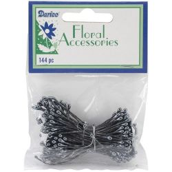 Darice Floral Accessories Black Pearl Stamen 144pc