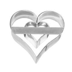 Birkmann Cookie Cutter Heart With Heart Inside