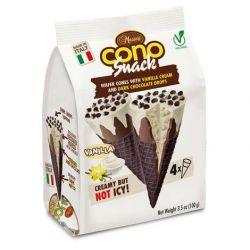 Messori Cono Snack Vanilla/Chocolate pk/4