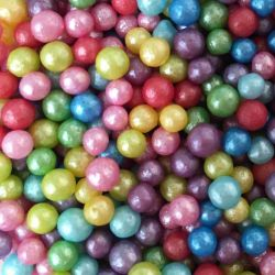 Scrumptious Glimmer Pearls Rainbow Mix