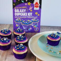 Cake Decor Cupcake Kit Galaxy