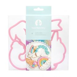 Sweet Tooth Fairy Unicorn Cookie Cutter Set/4