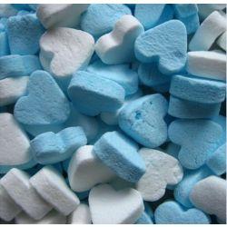 Pepermunt Hartjes Blauw-Wit 1kg