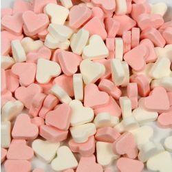 Pepermunt Hartjes Roze-Wit 1kg