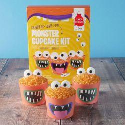 Cake Decor Cupcake Kit Monster