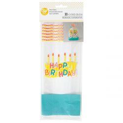 Wilton Treat Bags Happy Birthday pk/30