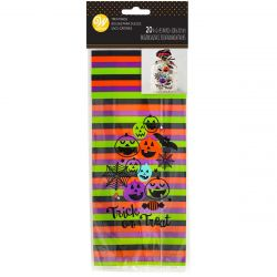 Wilton Treat Bag Trick Or Treat pk/20