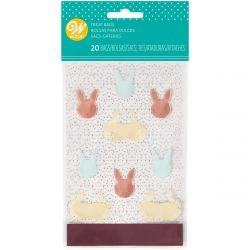 Wilton Treat Bags Happy Easter pk/20