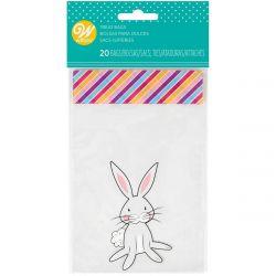 Wilton Mini Treat Bags Bunny pk/20