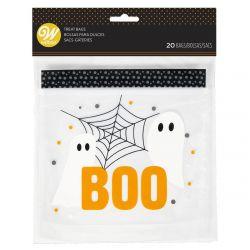 Wilton Resealable Treat Bags Boo Pk/20