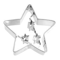 Birkmann Cookie Cutter Christmas Star With Internal Detailing