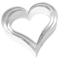 Birkmann Cookie Cutter Hearts 3 sizes