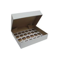 Cupcake Box 24 delig